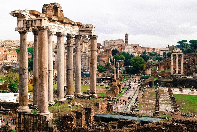 میدان رومی (Roman Forum) میدان اصلی رم ایتالیا