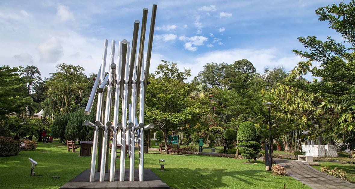 پارک مجسمه آسه آن (ASEAN Sculpture Garden) کوالالامپور