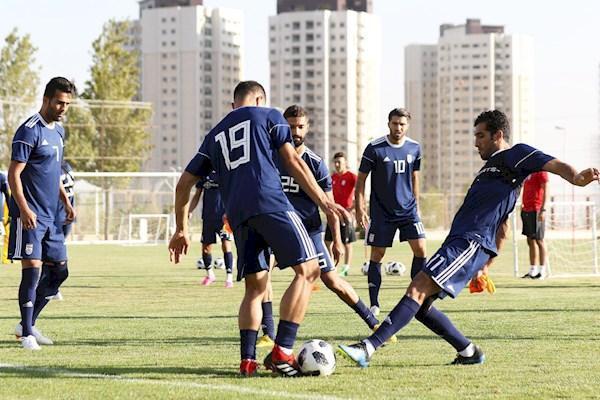 تیم اول آسیا زمین تمرین ندارد