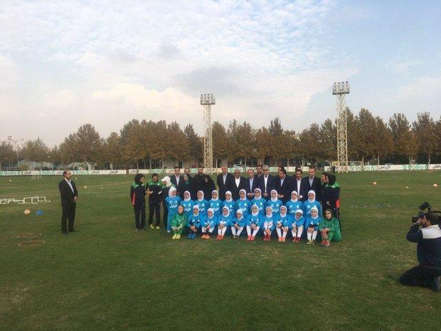 گزارش بازدید شیخ سلمان از آموزشگاه ملی فوتبال