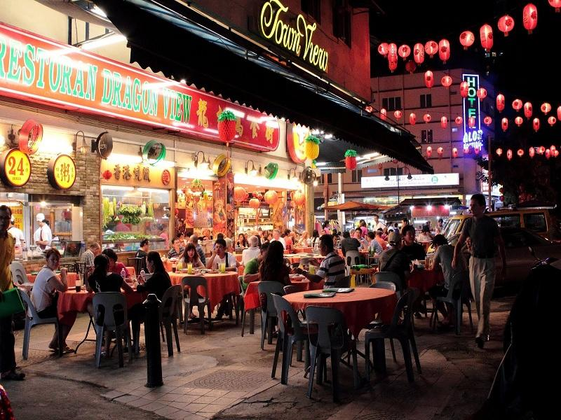 بهترین غذاهای بوکیت بینتانگ کوالالامپور مالزی