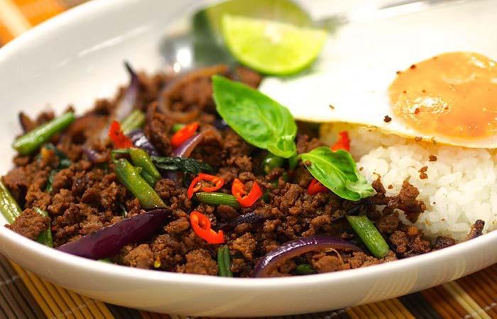 طمع غذاهای تایلند