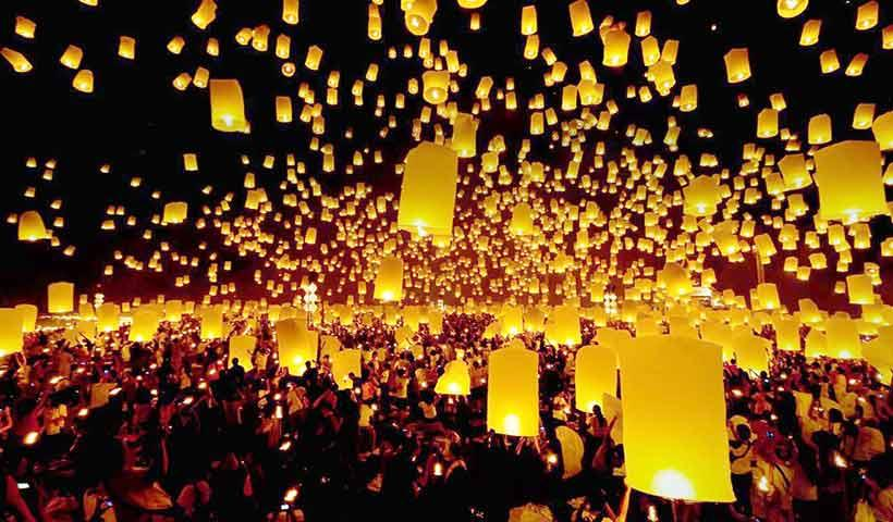 فستیوال ها و جشنواره ها ی تایلند