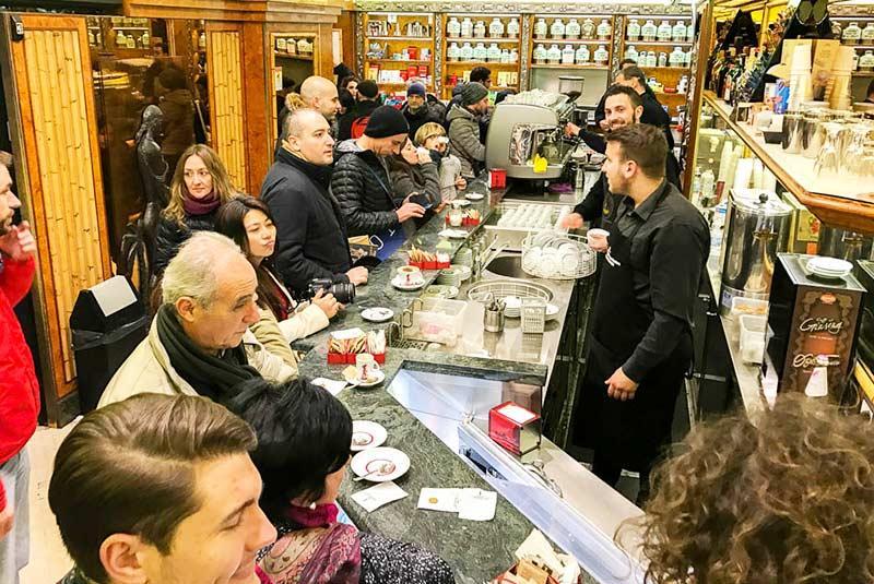 آشنایی با بهترین کافه های رم ایتالیا