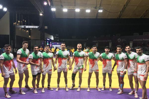 تیم ملی کبدی مقابل مالزی پیروز گشت