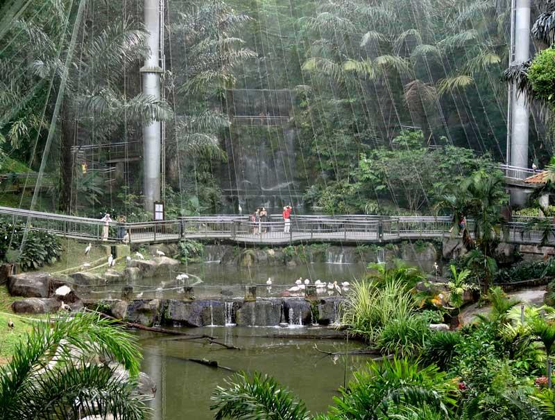 باغ پرندگان کوالالامپور مالزی