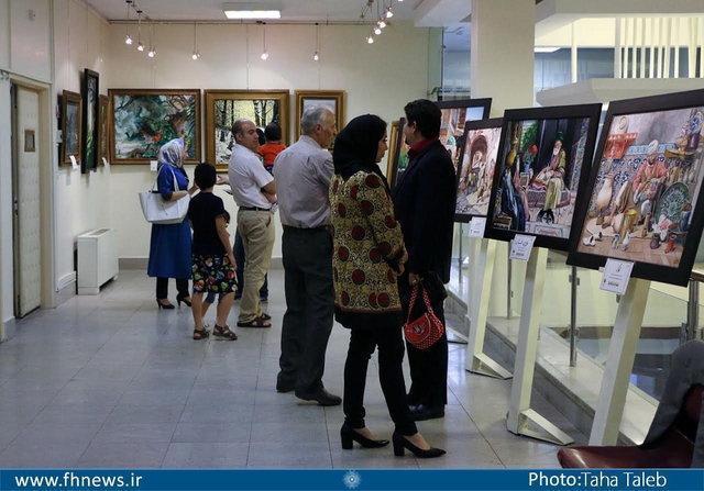 نمایشگاه نقاشی مجموعه روزی روزگاری