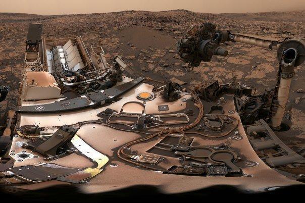 سلفی 360 درجه کاوشگر کنجکاوی در مریخ