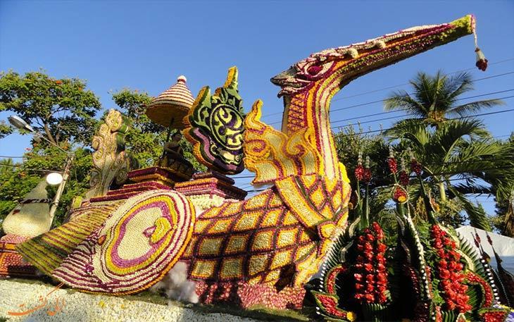 زمان برگزاری جشن گل در تایلند