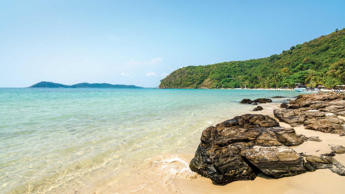 جزیره کو سامت و سواحل زیبای آن در تایلند
