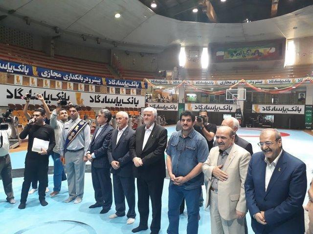 مراسم تجلیل حامی کشتی از مدال آوران بازی های آسیایی برگزار گردید