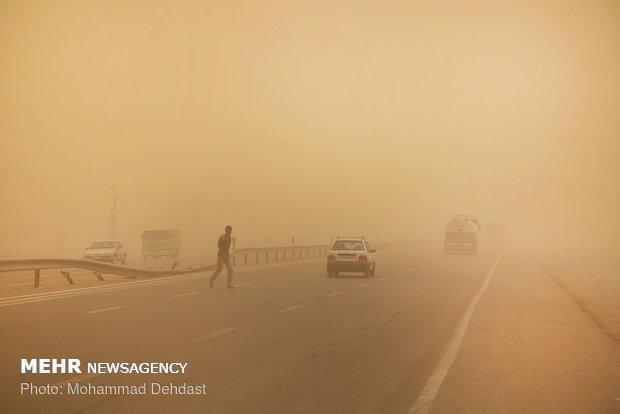 آلودگی هوای زابل به 37 برابر حد مجاز رسید