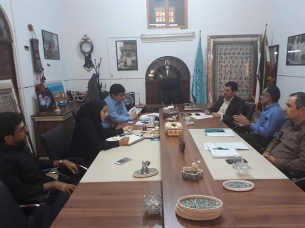 برگزاری نشست هم اندیشی مدیران میراث فرهنگی و منابع طبیعی بوشهر