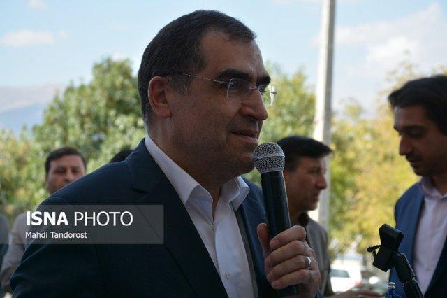 وزیر بهداشت، بخش های جدید بیمارستان امیرالمومنین (ع) مراغه را افتتاح کرد
