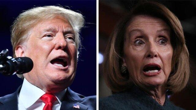 پلوسی خواهان تعویق سخنرانی سالانه ترامپ در کنگره