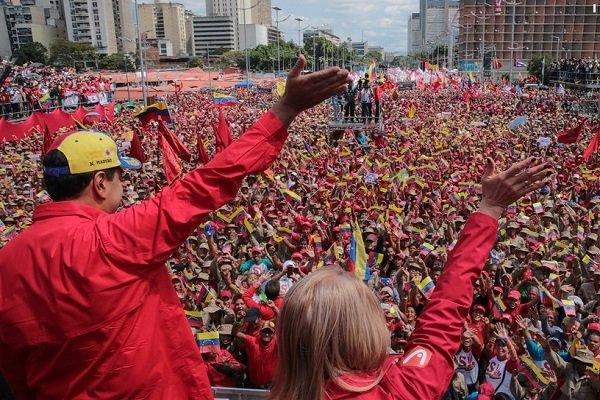 یاری های آمریکا به ونزوئلا دروغ از آب درآمد