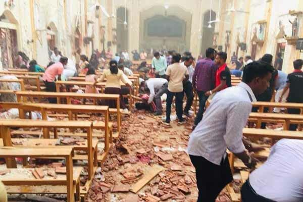 انفجارهای سریلانکا ده ها کشته و صدها زخمی بر جا گذاشت
