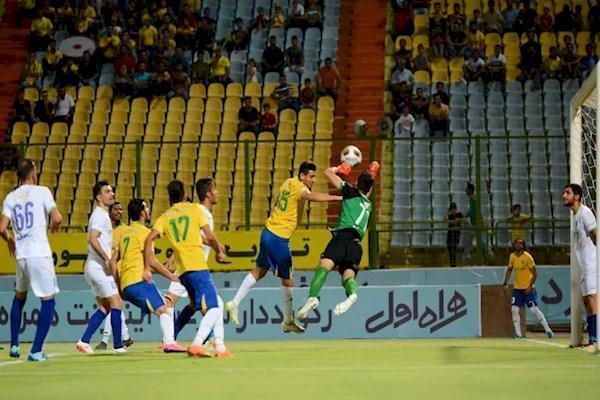 استقلال خوزستان یک - نفت آبادان یک ، شهرآورد، بدون برنده