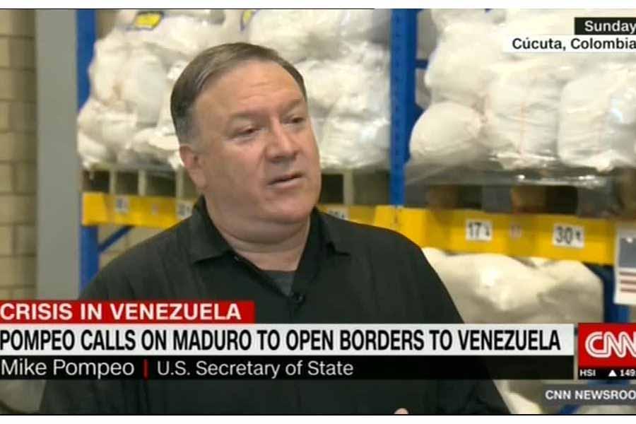وزیر خارجه آمریکا بار دیگر کوبا، روسیه و چین را تهدید کرد