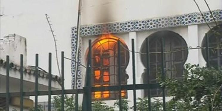 آتش سوزی و تخریب بخشی از موزه باستانی الجزائر در جریان تظاهرات