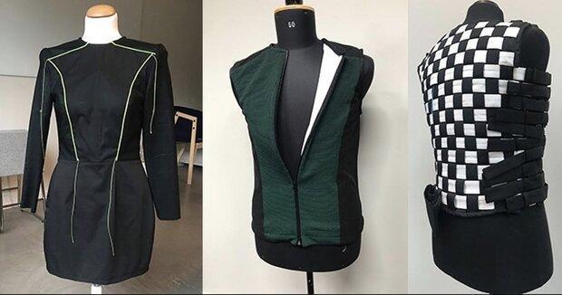 لباسی که محیط را برای افراد نابینا و ناشنوا تشریح می کند