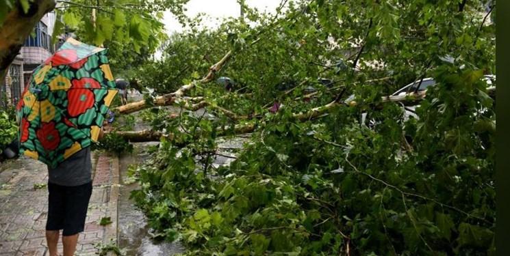 طوفان لکیما 13 نفر را در چین قربانی کرد