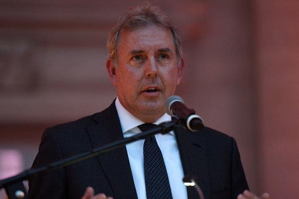 سفیر مستعفی انگلیس در آمریکا به عضویت مجلس اعیان درآمد