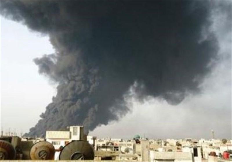 انفجار خط لوله انتقال نفت در چین 22 کشته برجا گذاشت
