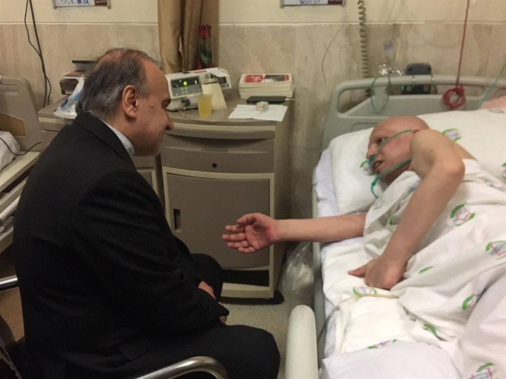 مهدی شادمانی: فکر می کنم سرطان گرفتم تا خدا را ببینم