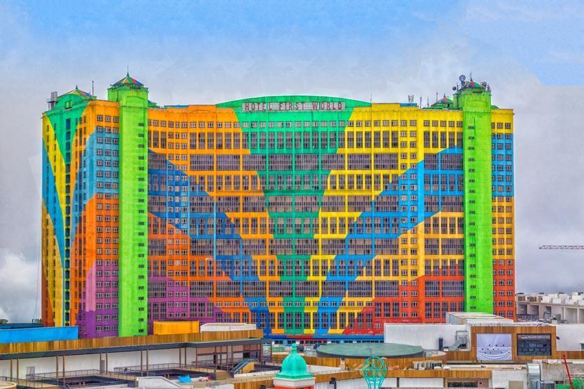 هتل فرست ورلد در گنتینگ هایلند مالزی، رکورد دار تعداد اتاق در جهان