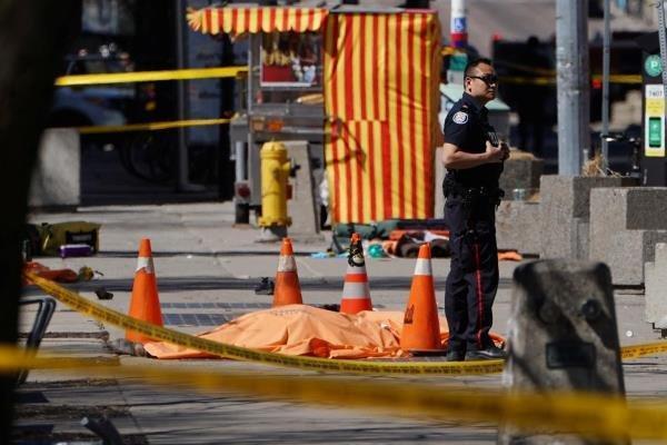 احتمال تروریستی بودن حادثه تورنتو وجود دارد