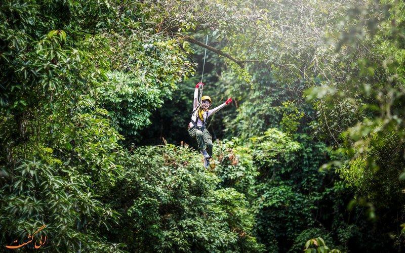ماجراجویی هیجان انگیز در جنگل های تایلند