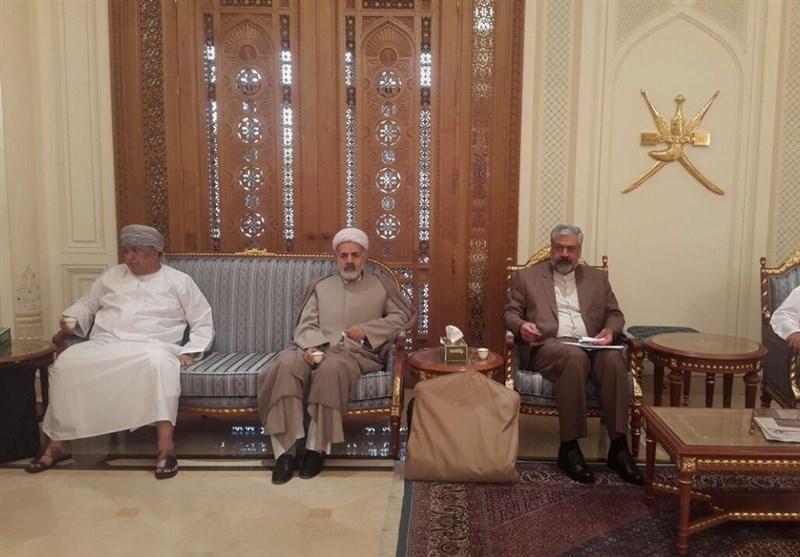 سفر سرمدی به مسقط، رایزنی با رئیس کل بانک مرکزی عمان