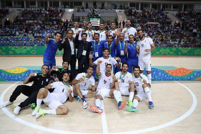 صعود تیم ملی فوتسال ایران در رده بندی جهانی