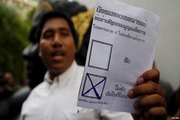شورای نظامی پیش نویس قانون اساسی تایلند را نپذیرفت