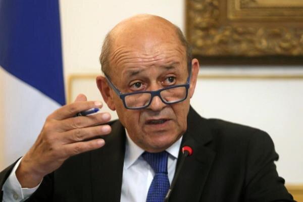 لودریان: تبادل نظر با روسیه برای امنیت اروپا ضروری است
