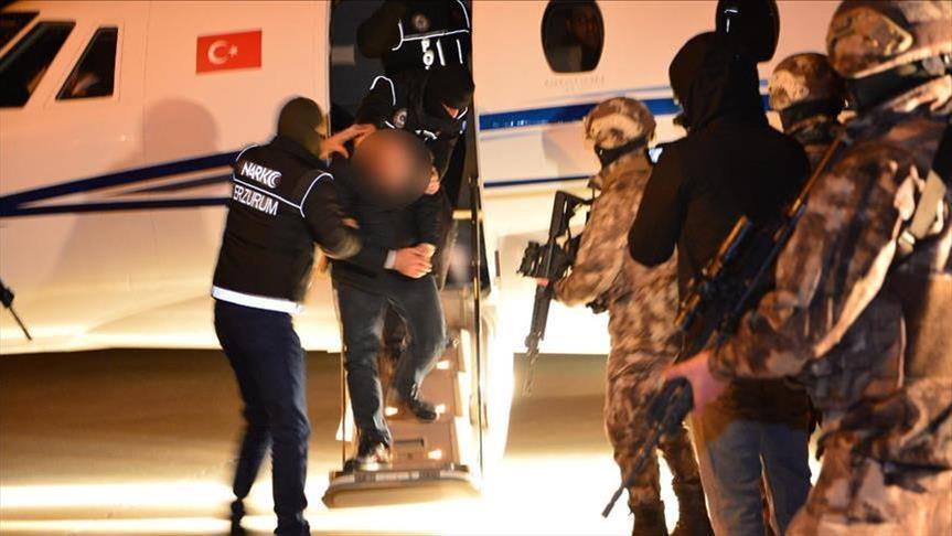 کشف بزرگترین محموله مواد مخدر فرودگاهی در تاریخ ترکیه