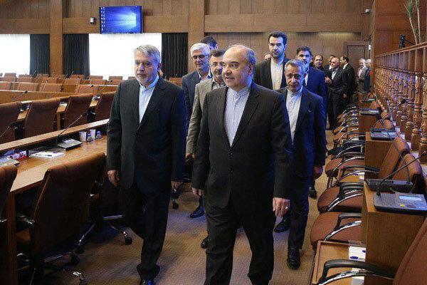ملاقات مشترک صالحی امیری و سلطانی فر با رئیس IOC