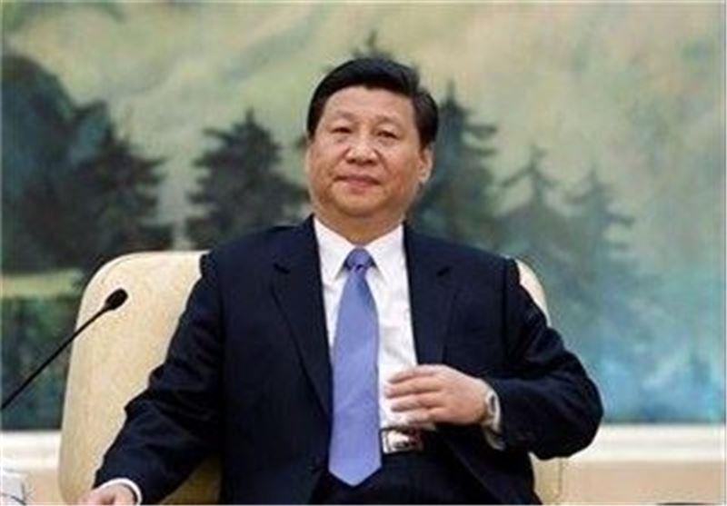 بازدید رئیس جمهور چین از پایگاه نظامی در آبهای جزایر مورد مناقشه