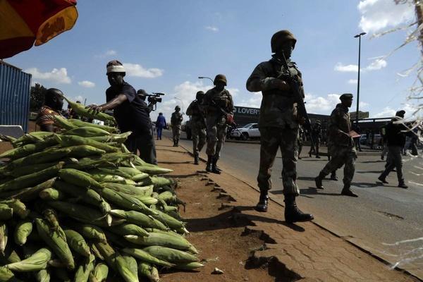 اعلام شرایط اضطراری در پایگاه نظامی آمریکا در آفریقا