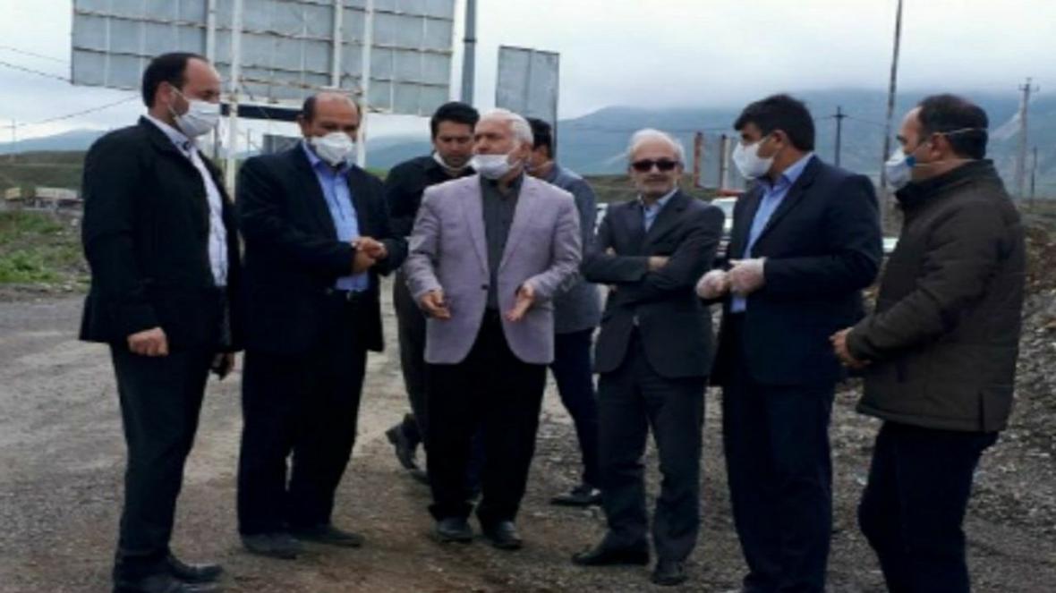 عملیات ساماندهی ورودی شهر مرند شروع شد