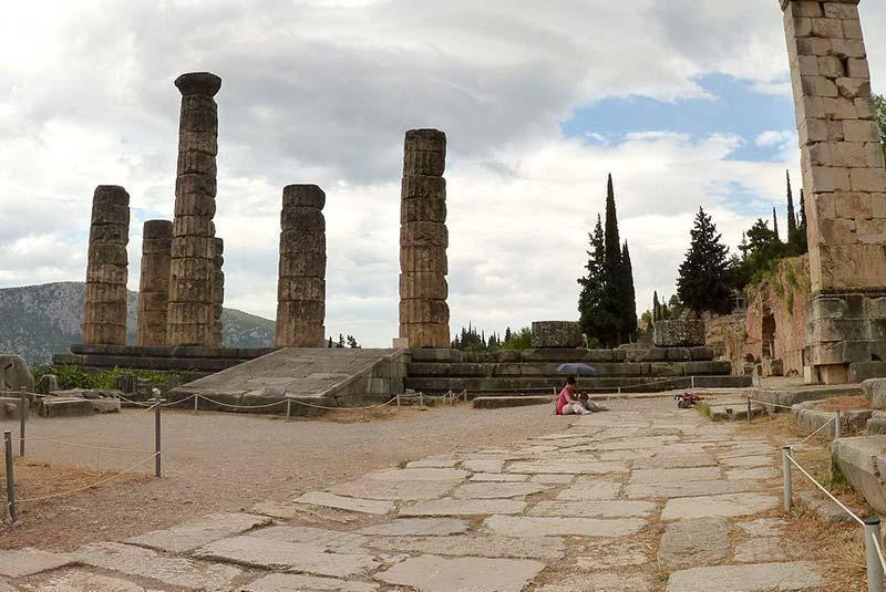 از شهر دلفی (Delphi) یونان چه می دانید؟، تصاویر