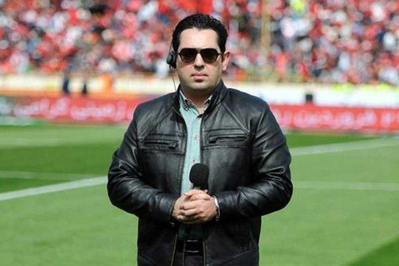 احمدی بازی استقلال - سایپا را گزارش می نماید