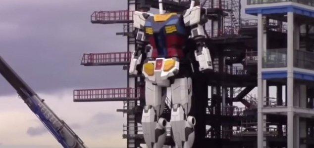 روبات 18 متری در ژاپن ساخته شد