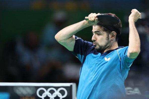 شروع به کار نیما عالمیان با تیم جدیدش در لیگ تنیس روی میز فرانسه
