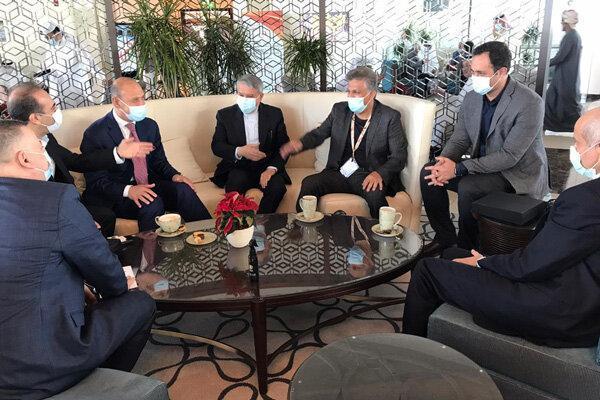 ملاقات رئیس کمیته ملی المپیک با مسئولان ورزشی عراق در عمان