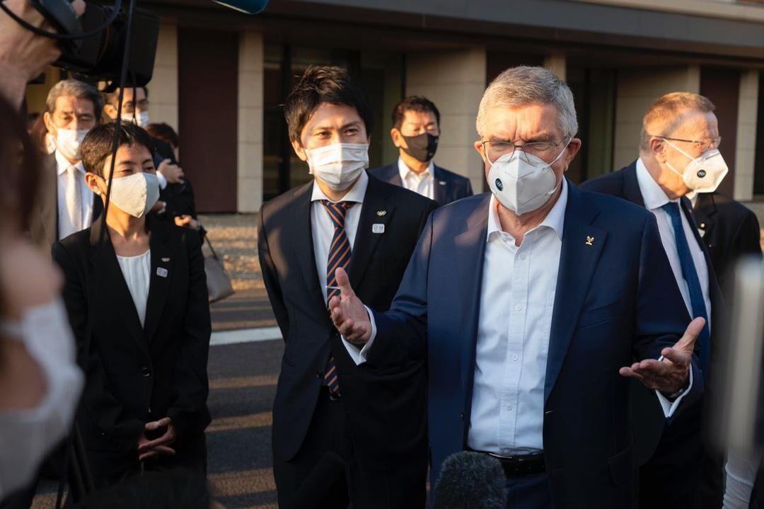 خبرنگاران انگیزه ما برای برگزاری المپیک توکیو بیشتر شد