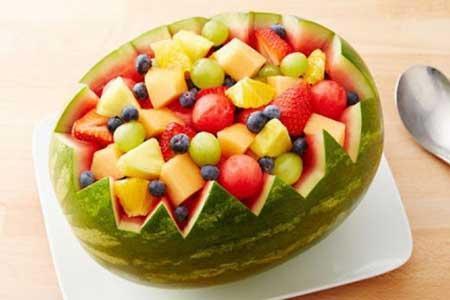 بهترین میوه های آب رسان برای بدن