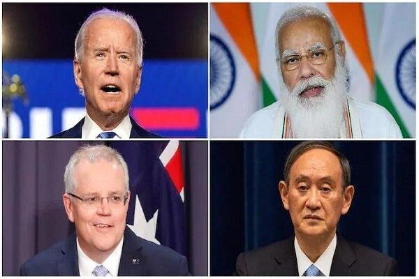 نشست چهارجانبه سران آمریکا، ژاپن، هند و استرالیا برگزار می گردد