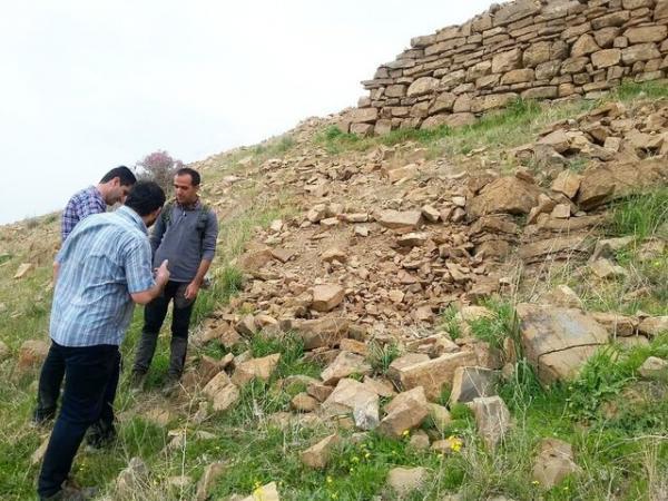 قلعە شهر تاریخی حسن آباد ساماندهی می گردد